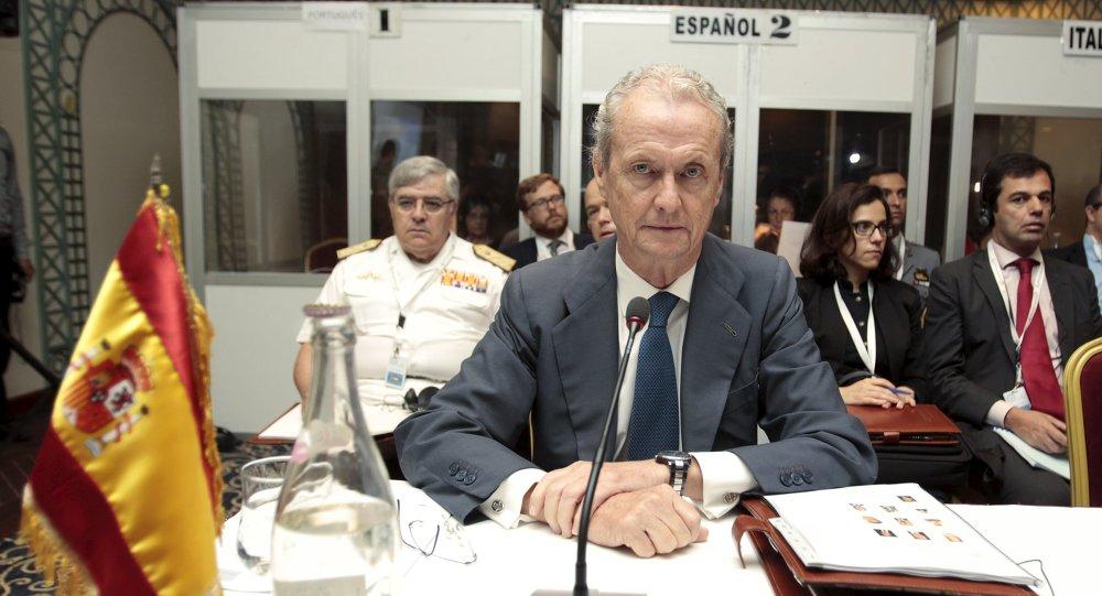 Pedro Morenés, ministro español de Defensa