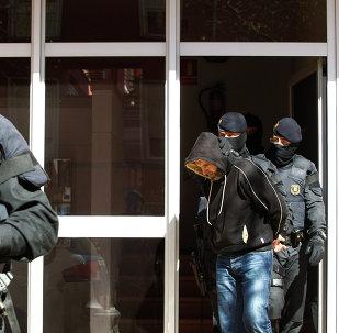 Una operación antiterrorista en España (archivo)