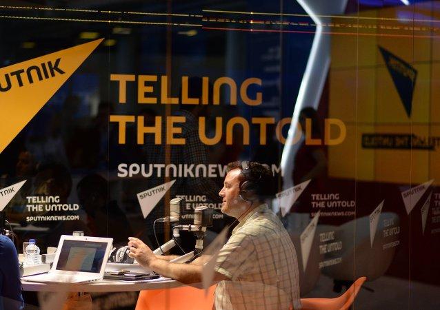 Radio Sputnik en el Fóro Económico Internacional de San Petersburgo 2015