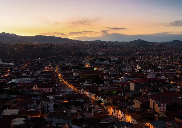 Sucre, capital de Bolivia