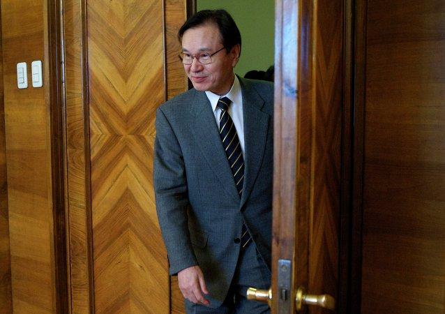 Shotaro Yachi, secretario general del Consejo Nacional de Seguridad de Japón