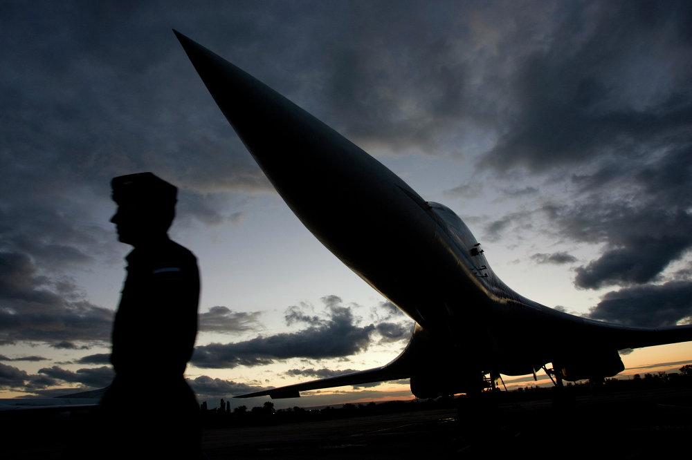 El bombardero estratégico Tupolev Tu-160 (Blackjack para la OTAN)