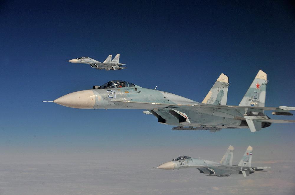 Su-27 (Flanker, según clasificación de la OTAN)