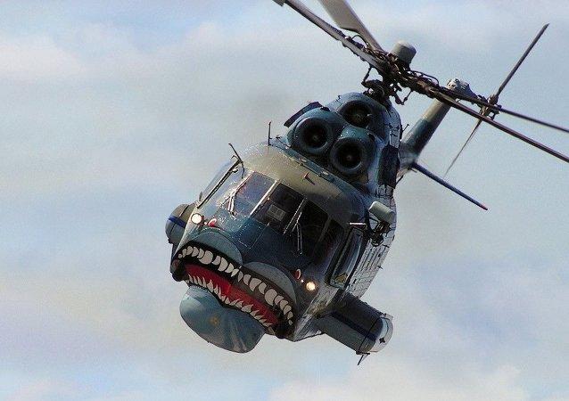 Helicóptero ruso Mi-14