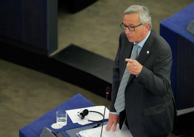 El jefe de la Comisión Europea, Jean-Claude Juncker