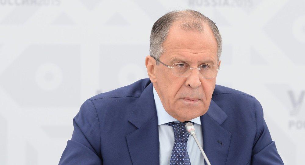 Serguéi Lavrov, ministro de Asuntos Exteriores de Rusia, el 9 de julio, 2015
