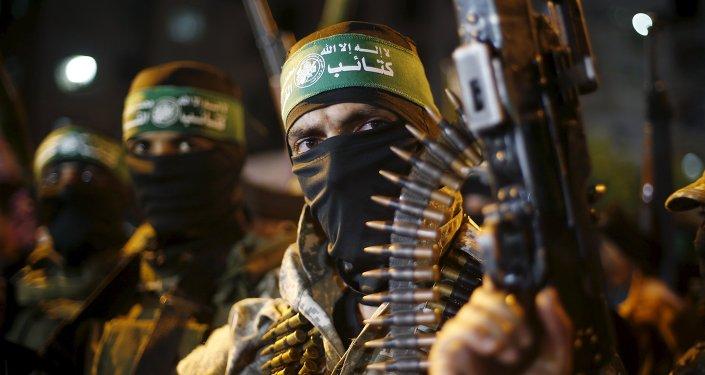 Milicianos de Hamás