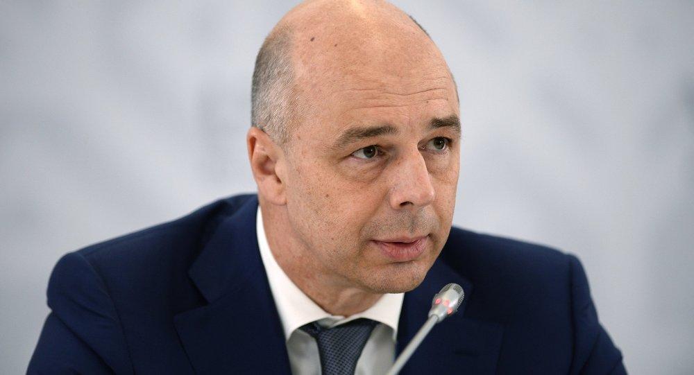 Antón Siluánov, ministro de Finanzas de Rusia