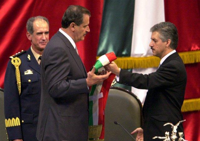 Inauguración del presidente de México, Vicente Fox