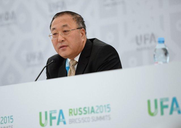 Zhang Jun, el director del departamento de Economía Internacional del Ministerio de Relaciones Exteriores de China