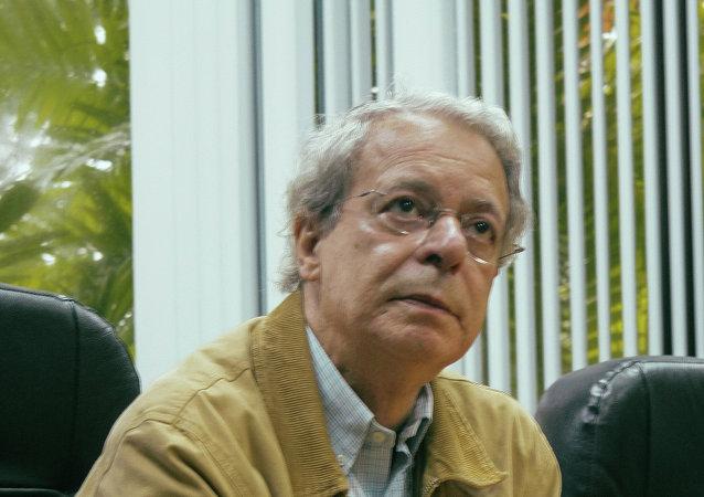Frei Betto, asesor especial durante de la Presidencia con Lula da Silva y uno de los fundadores del Partido de los Trabajadores