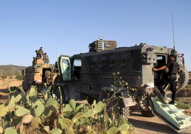 Soldados tunecinos