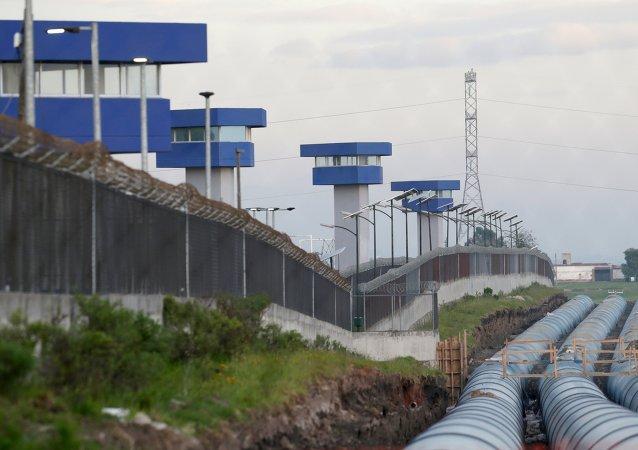 La cárcel El Altiplano de donde se fugó el 'Chapo'