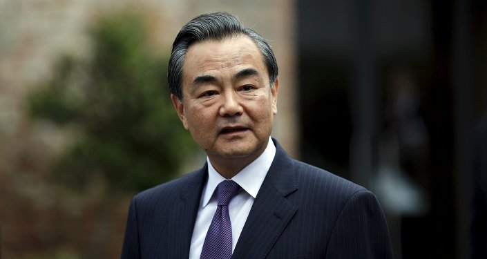 Wang Yi, canciller de China (archivo)