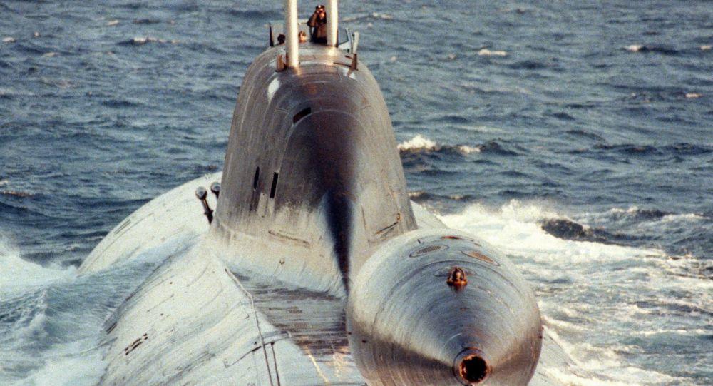 Submarino de la clase Schuka-B (Archivo)