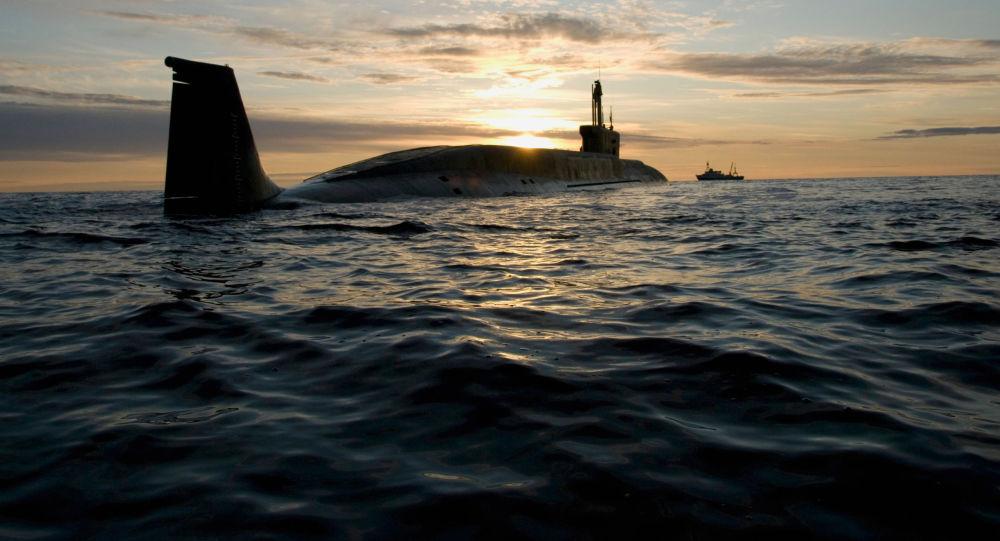 Submarino nuclear ruso Yuri Dolgoruki (archivo)