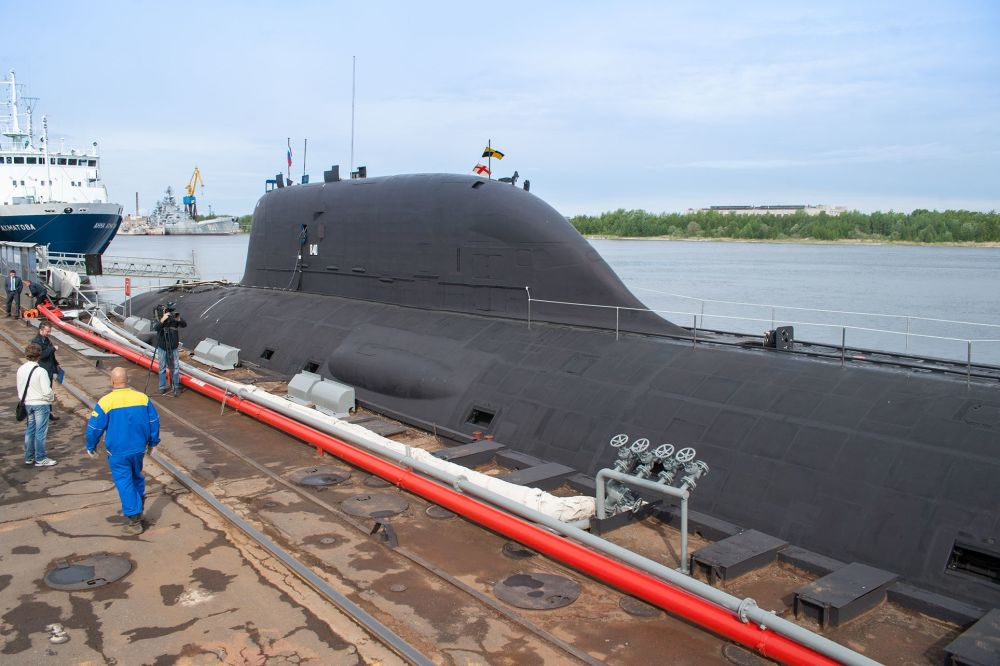 Submarino nuclear del proyecto 885 (0885) clase Yasen