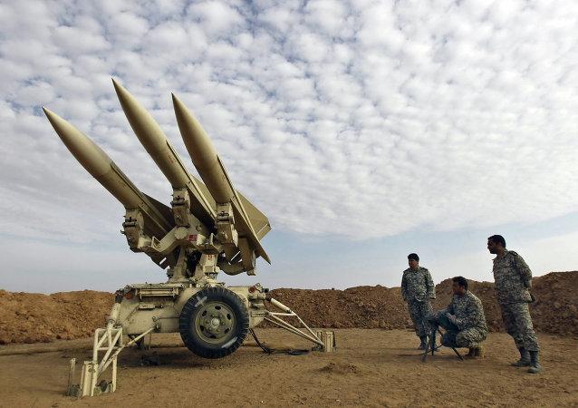 Misiles iraníes (archivo)