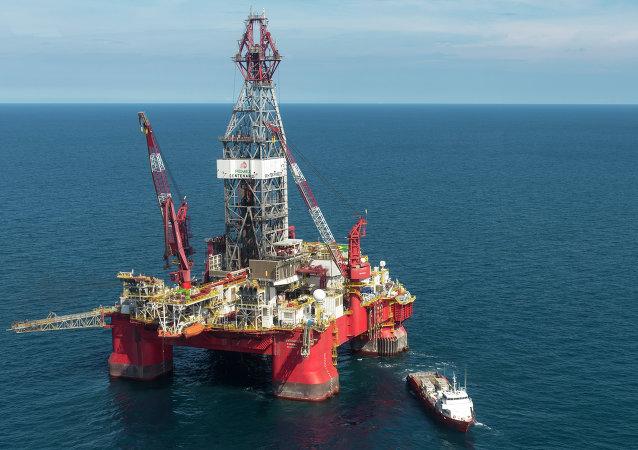 Plataforma petrolífera de Pemex