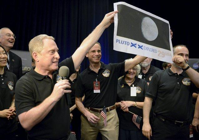 NASA celebra el acercamiento de la sonda New Horizons a Plutón, el 14 de julio, 2015