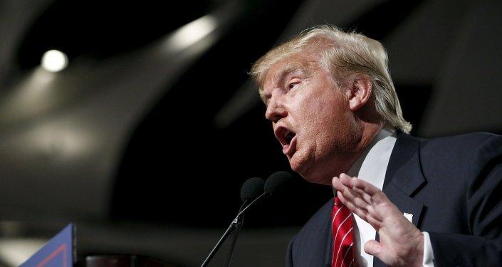 Donald Trump, candidato a las primarias republicanas de cara a las elecciones presidenciales de EEUU de 2016
