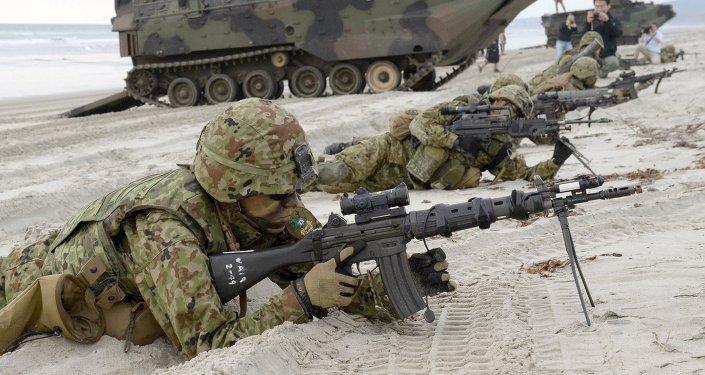 Fuerzas de Autodefensa de Japón durante unas maniobras (archivo)