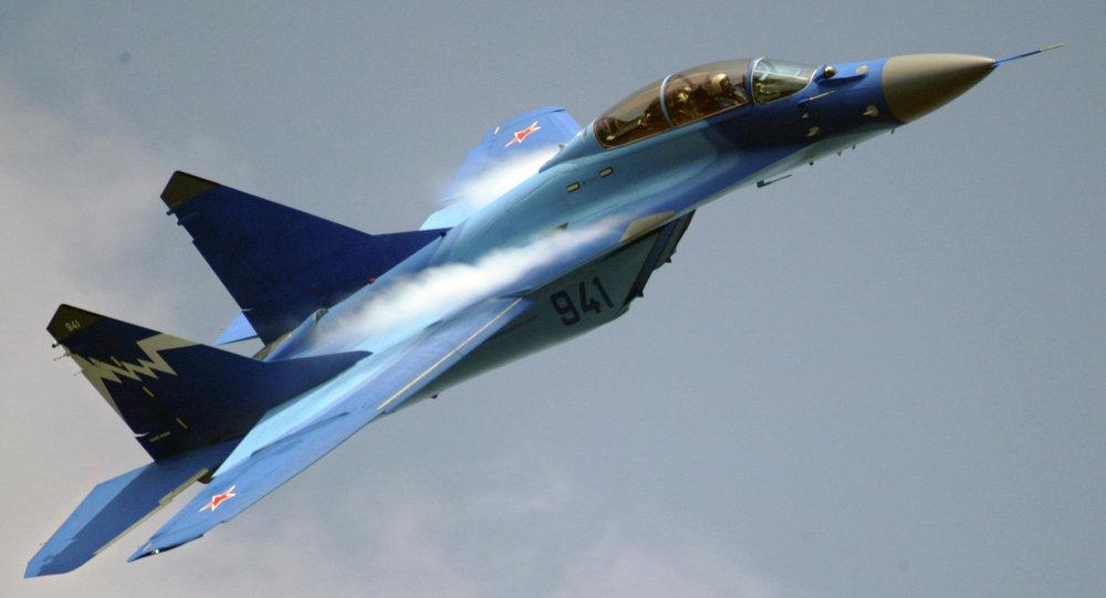 Un MiG-29 ruso (archivo)