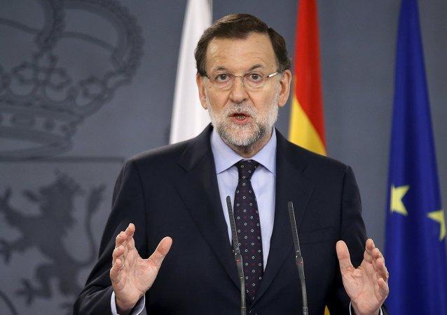 Mariano Rajoy, el presidente del Gobierno de España en funciones