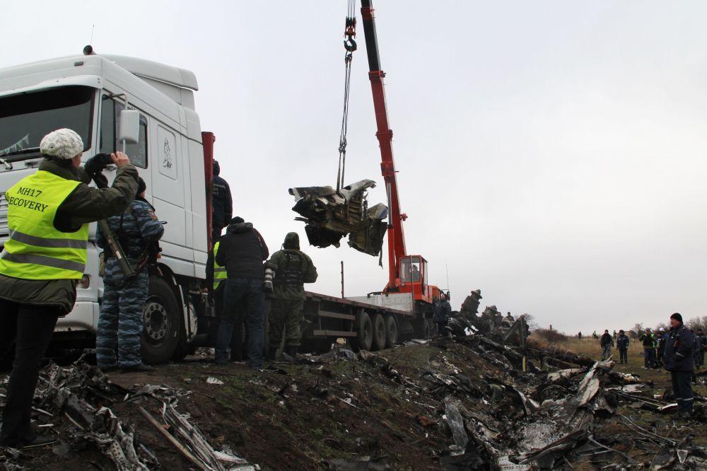 Un año de la tragedia del MH17 en Donetsk