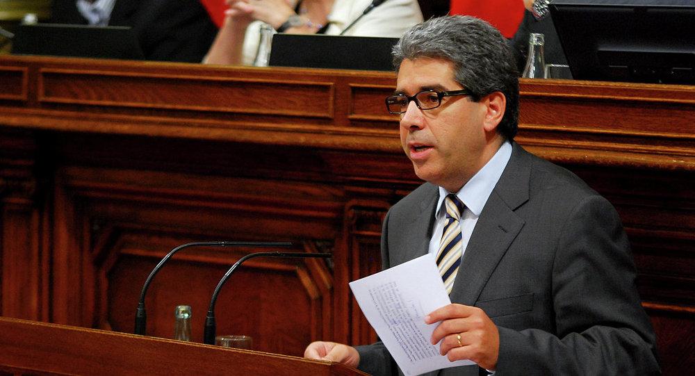 Francesc Homs,exconsejero de Presidencia del Gobierno de Cataluña (archivo)