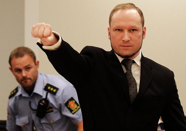 El terrorista Anders Behring Breivik (archivo)