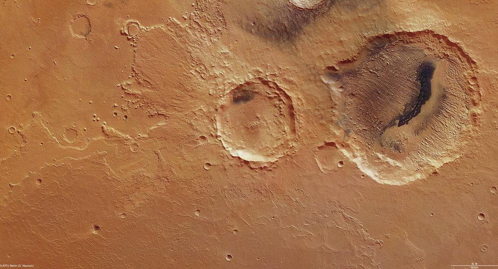 La superficie del Marte