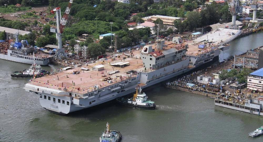 Portaavion de la clase Vikrant de la Armada India