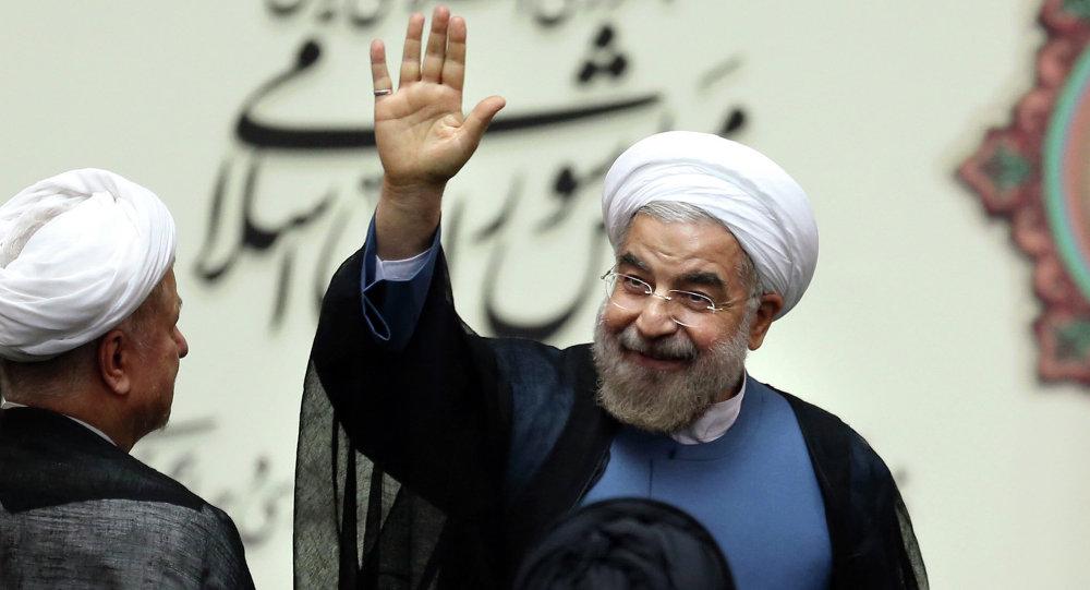 Hasan Rohani, presidente de Irán (archivo)
