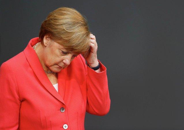 Angela Merkel, canciller de Alemania, el 17 de julio, 2015