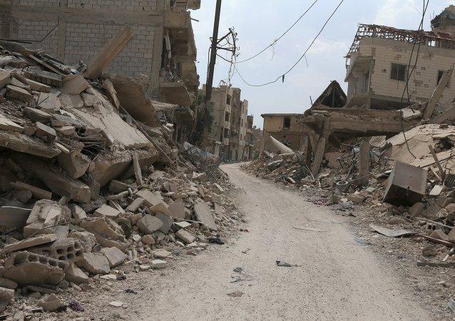 Situación en Damasco (Archivo)
