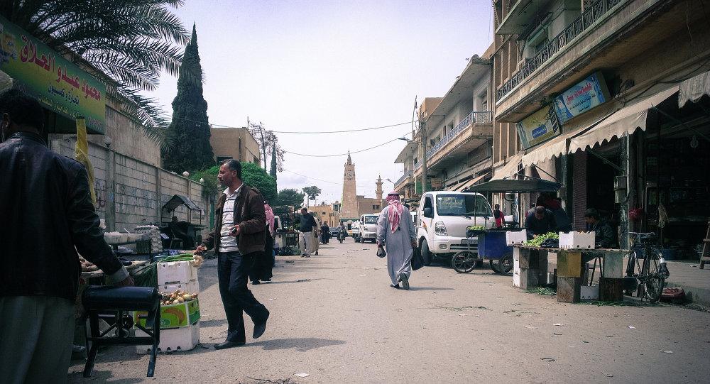 Ciudad siria de Al Raqa (archivo)
