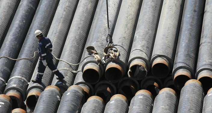 Construcción de gasoducto