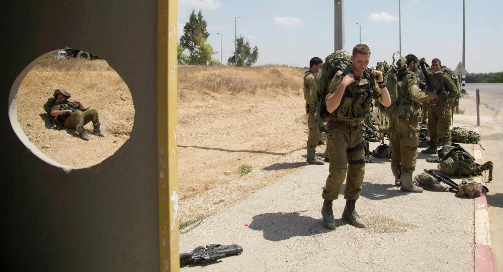 Soldados israelíes cerca de la frontera con la Franja de Gaza (Archivo)