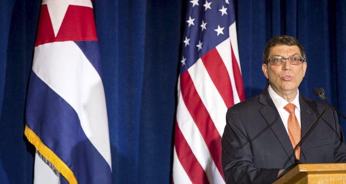 Bruno Rodriguez, ministro de Exteriores de Cuba