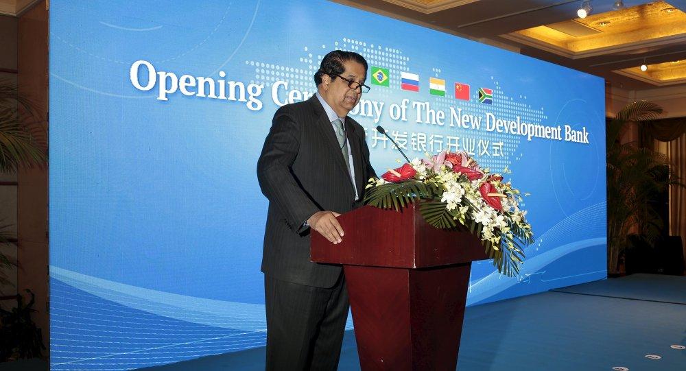 Kundapur Vaman Kamath, presidente de Banco de Desarrollo de los BRICS