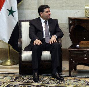 Wael al-Halqi, primer ministro de Siria