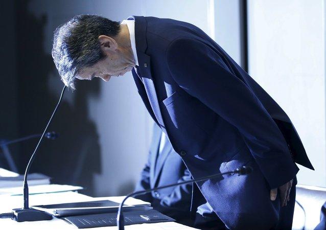 Hisao Tanaka, presidente de Toshiba