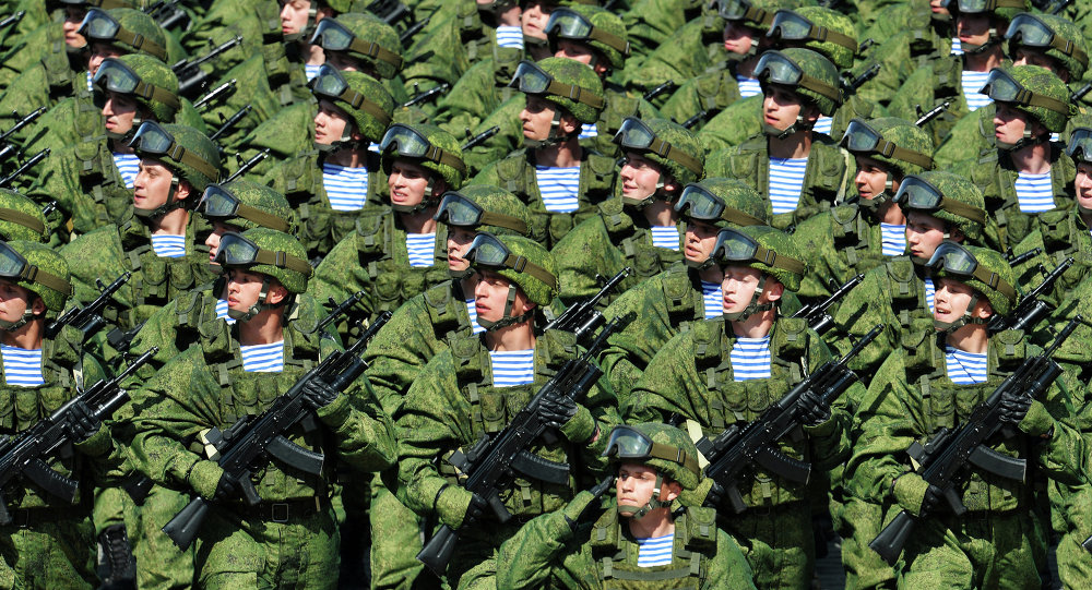 Desfile militar con motivo del Día de la Victoria en la Plaza Roja de Moscú