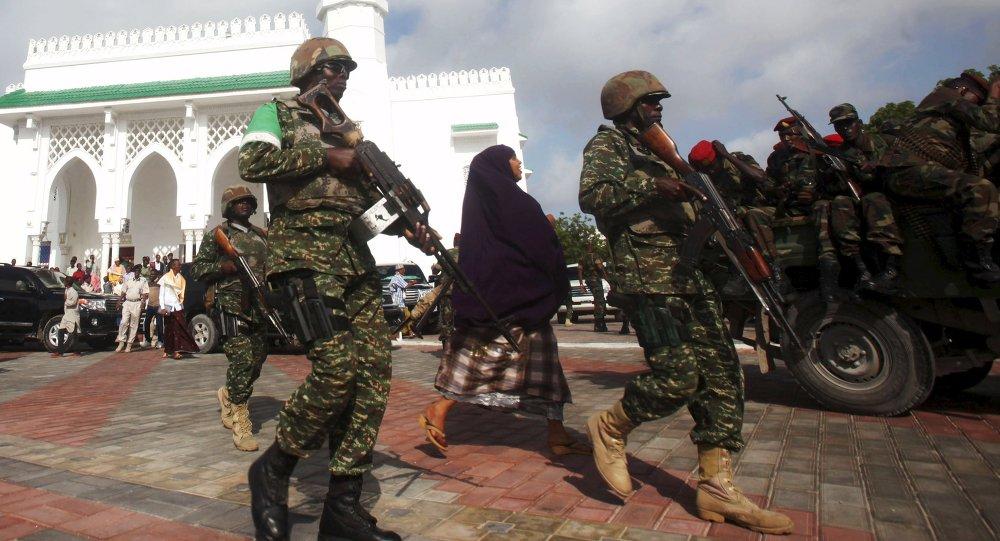 Soldados somalíes
