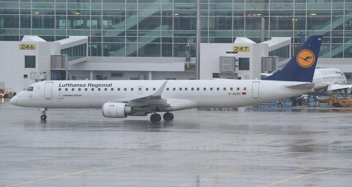 Lufthansa Embraer ERJ 195