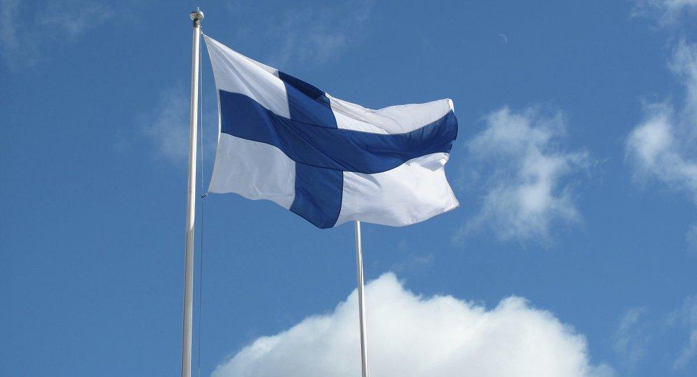Bandera de Finlandia (archivo)