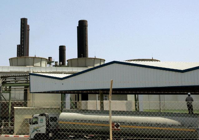 Planta energética de Gaza en Nusseirat