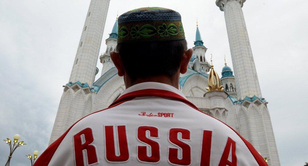 Сelebración de la festividad religiosa islámica Eid al-Fitr en Kazan