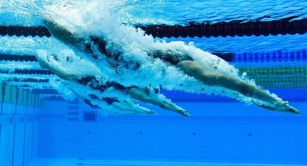 Apartan a siete nadadores rusos de los juegos ol mpicos de for Planos de piletas de natacion